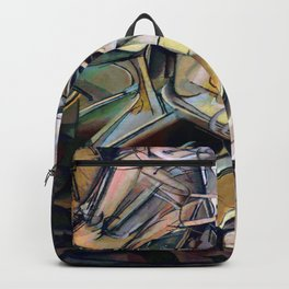 Marcel Duchamp Nude Descending a Staircase Backpack