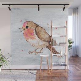 Robin Wall Mural