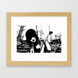 Imminence Falls Framed Art Print