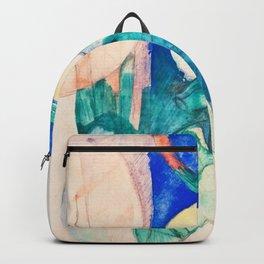 Franz Marc - Mandrill - Digital Remastered Edition Backpack