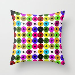 Vinyl- The Collector's Edition Throw Pillow