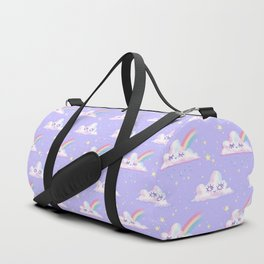 Cloudy Kawaii Duffle Bag