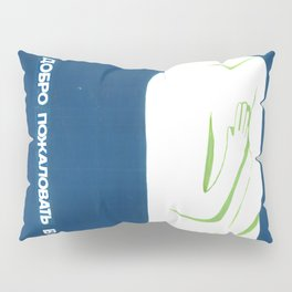 welcome to Mongolia Pillow Sham