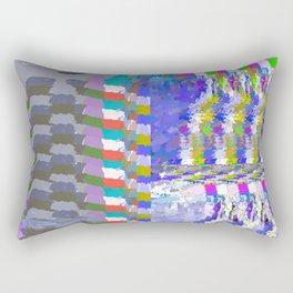 landscape collage #24 Rectangular Pillow