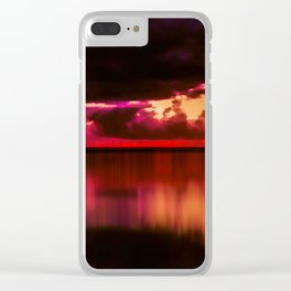 Another Place at Sunset Clear iPhone Case