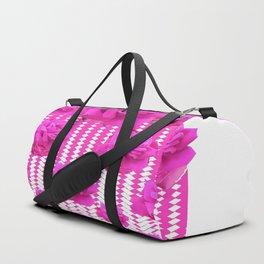 ABSTRACTED  PINK ROSES GARDEN ART Duffle Bag