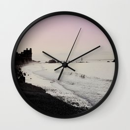 Breaking Tide Wall Clock