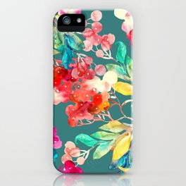 Stay home and be creative iPhone Case