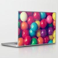 gumball Laptop & iPad Skins featuring Gumball Fun by Amelia Kay Photography