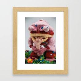 Tasty, Tasty Flesh Framed Art Print