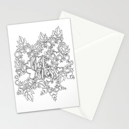 Hot Mess Adult Coloring Stationery Cards