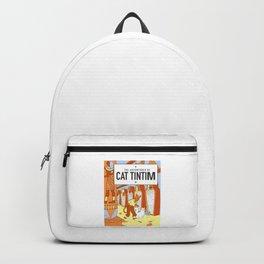 Belgian Comics Cat Tintim Backpack