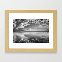 Berrow Beach Framed Art Print