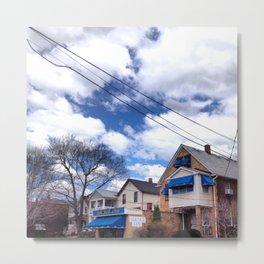 Blue Lounge Metal Print