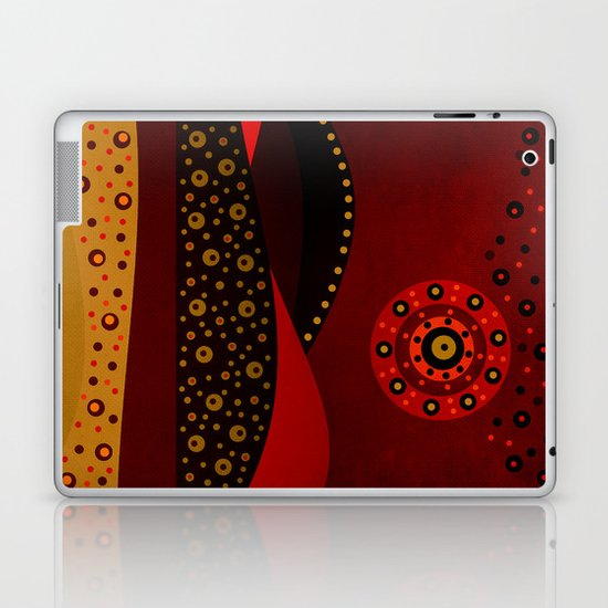 Red spring Laptop & iPad Skin