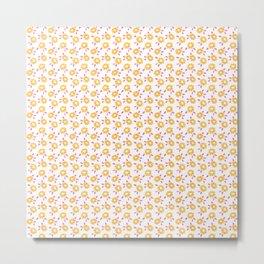 Autumn floral - summer version :) Metal Print