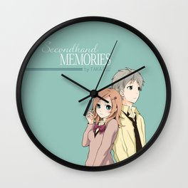 Secondhand Memories Original Wall Clock