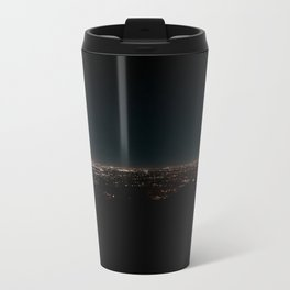California Night Lights Metal Travel Mug
