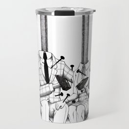 Love (one hand to caress and the other one to hurt) Travel Mug