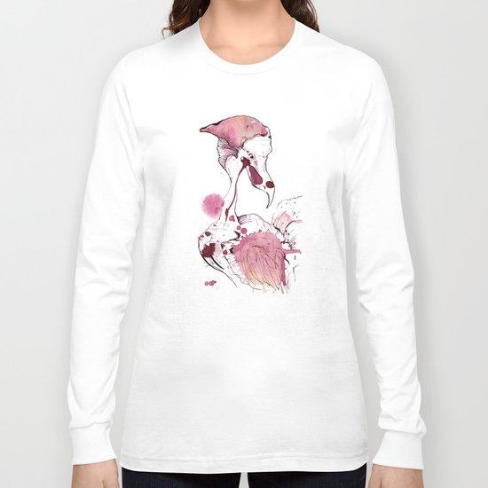 Hoploid Heron Long Sleeve T-shirt