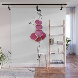 Edible Ensembles: Watermelon Radish Wall Mural