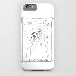 The Magician Tarot white iPhone Case