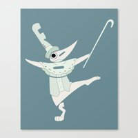 soul eater Canvas Prints featuring fools! excalibur soul eater by Rebecca McGoran