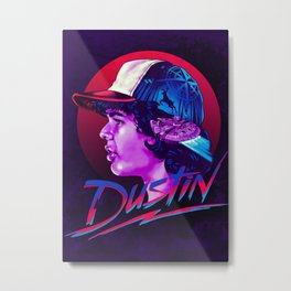Dustin Metal Print