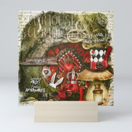 Queen of the Hearts Mini Art Print