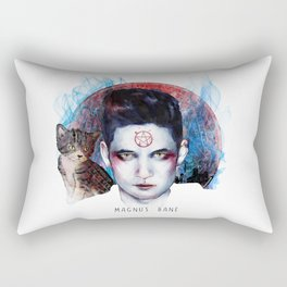 High Warlock of Brooklyn Rectangular Pillow