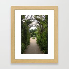Paris, France - Garden Framed Art Print