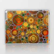 Abstract Circles Pattern 2 Laptop & iPad Skin