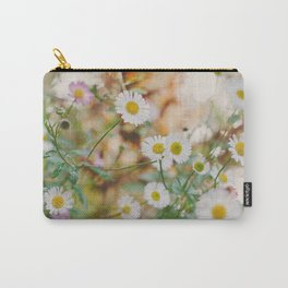 Meadow Wild Flowers Carry-All Pouch