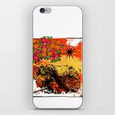 Pekingese pop art iPhone & iPod Skin
