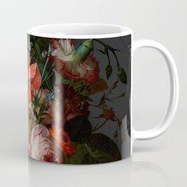 "Rachel Ruysch ""Still Life with Flowers on a Marble Tabletop"" Coffee Mug"