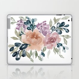 Fall Flowers + Leaves Laptop & iPad Skin