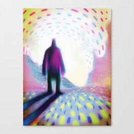 WEST Canvas Print