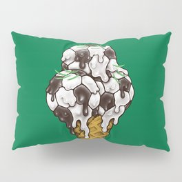 Ice Cream Soccer Balls Pillow Sham