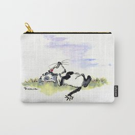 Afternoon Siesta Cat Nap Art Carry-All Pouch