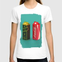 whisky T-shirts featuring Whisky Cola by Maxim Kirienko Art