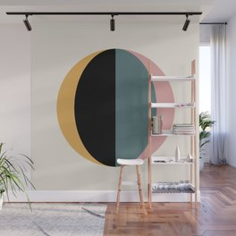 Mod Circle Abstract V Wall Mural