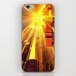 Retro Future Perfect iPhone Skin