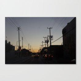Los Angeles 3 Canvas Print