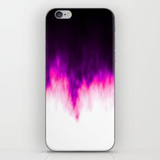Pink and Purple Flames iPhone & iPod Skin