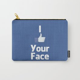 Your Face Carry-All Pouch