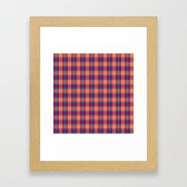 Nicki's Plaid Framed Art Print