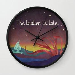 The Kraken Wall Clock