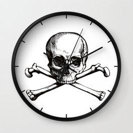 Skull and Crossbones | Jolly Roger Wall Clock
