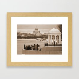 Youngsters Commune Framed Art Print