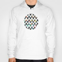 sparkles Hoodies featuring Chevron Sparkles by ParadiseApparel